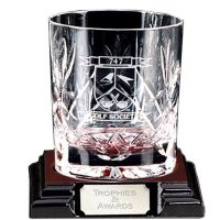 Knighton Crystal Lrge Whiskey Glass</br>KC015
